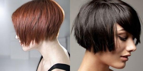 Фото девушек со стрижкой каре на коротких волосах