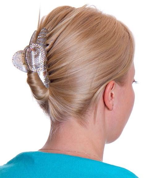 Краб - чудо заколка для волос, с которой вы закрепите локоны за несколько секунд