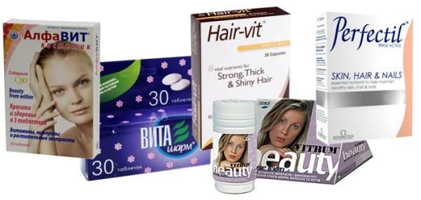 Таблетки для волос: витаминизация изнутри