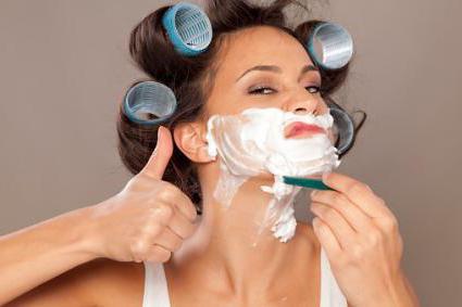 волосы на подбородке у женщин лечение