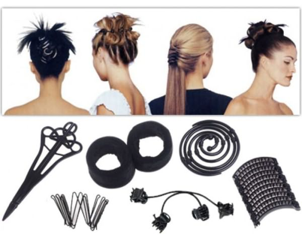 Набор хеагами и виды укладки волос