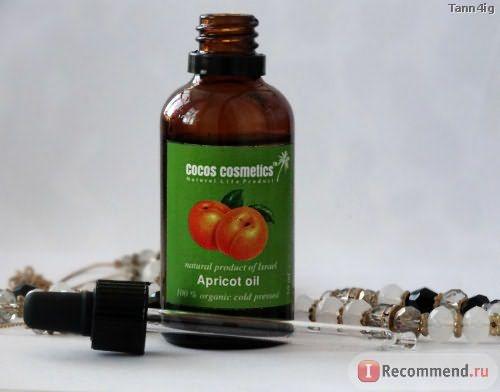 Натуральное масло Cocos cosmetics Apricot oil фото