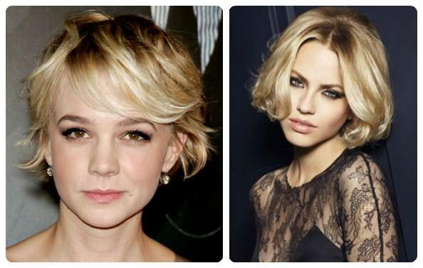 Отросшее блондирование