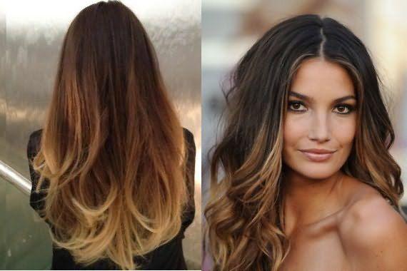 Пример тонированных волос