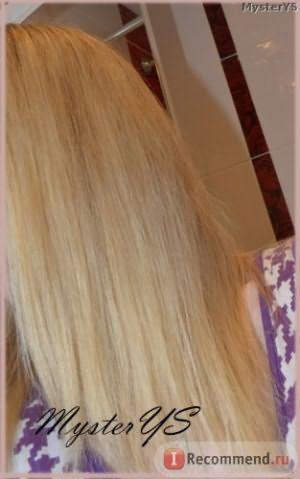 Волосы после льняного масла