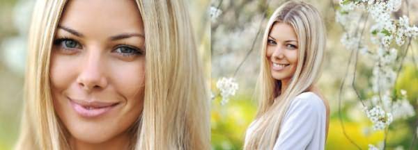 фото: Классическое мелирование волос