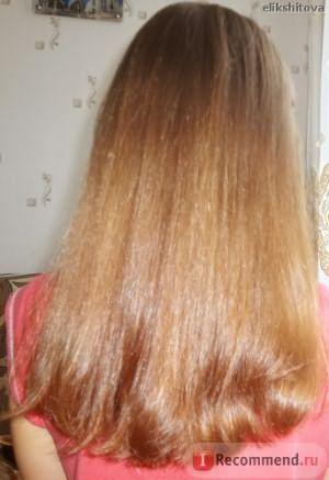 длина волос, цвет и блеск