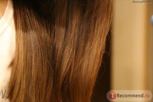 Шелковистые, прям в прямом смысле этого слова, волосы