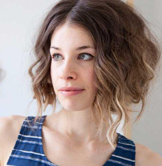 стрижка волос градуировка