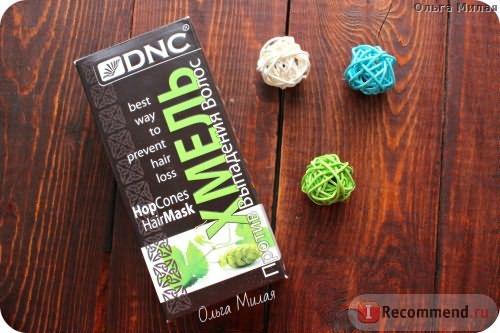 Хмель для волос DNC против выпадения. фото