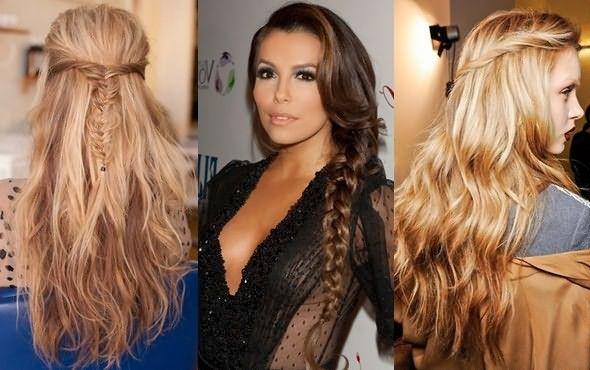 Красивая укладка длинных волос