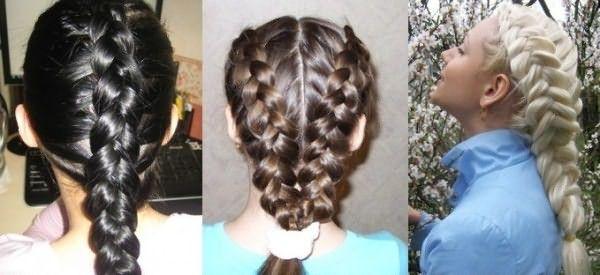 Бесконечно женственные и романтичные французские косы