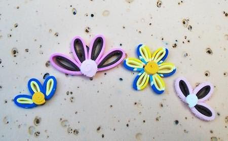 Faça outros formatos e tamanhos de flores