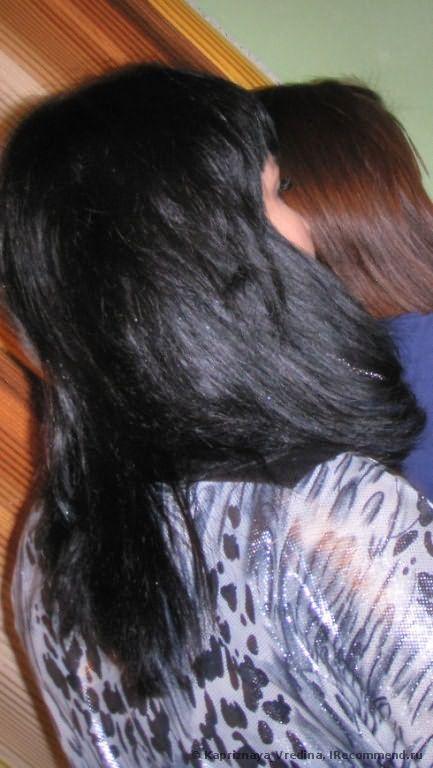 Волосы через месяц после окрашивания)