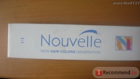 Краска для волос Nouvelle фото