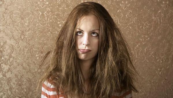 Загрязненные волосы