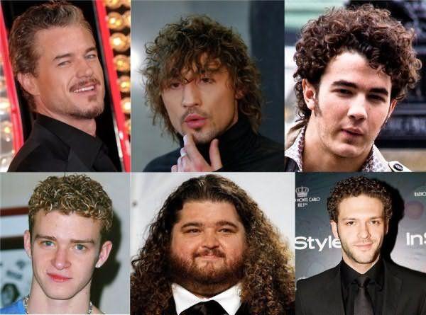 Кто догадается, где здесь натуральные завитки, а где химка на волосы?
