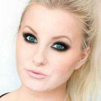 макияж для русых с серо голубыми глазами 4