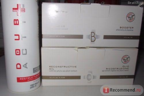 Бустер HAIR COMPANY с экстрактом кератина. Double Action фото