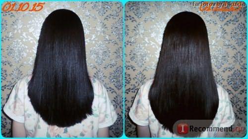 Мои волосы на момент начала использования комплекса - осень 2015