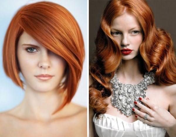 Рыжеволосые красавицы всегда манили красотой и очарованием своих волос Типы внешности и выбор оттенка