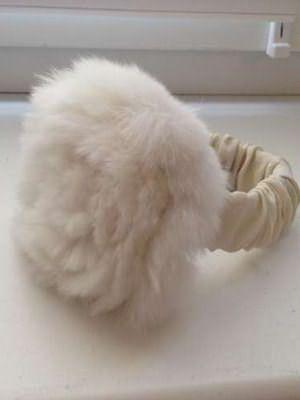 Пример меховой заколки-резинки