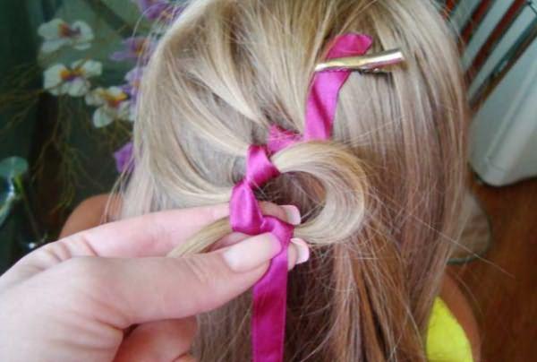 Процесс воссоздания извилистой косы: шаг 5