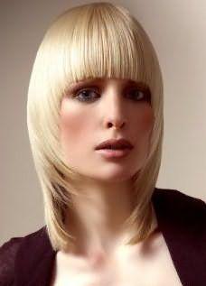 прически стрижки для тонких волос 16