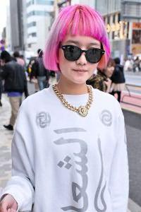 Розовые волосы 2