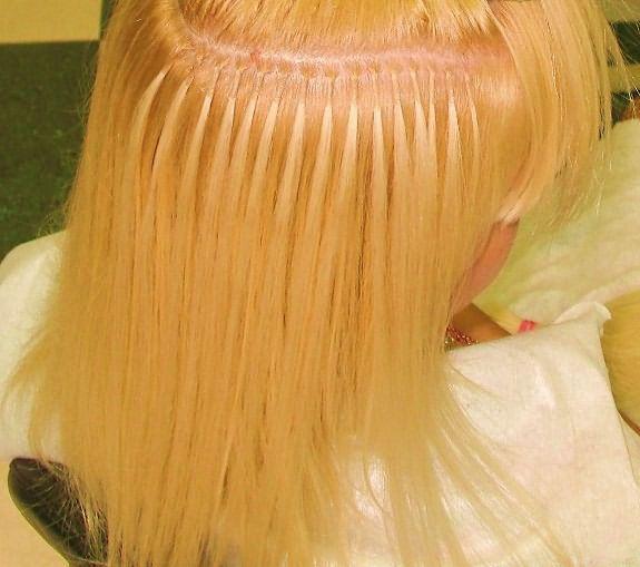 Количество прядей зависит от длины волос