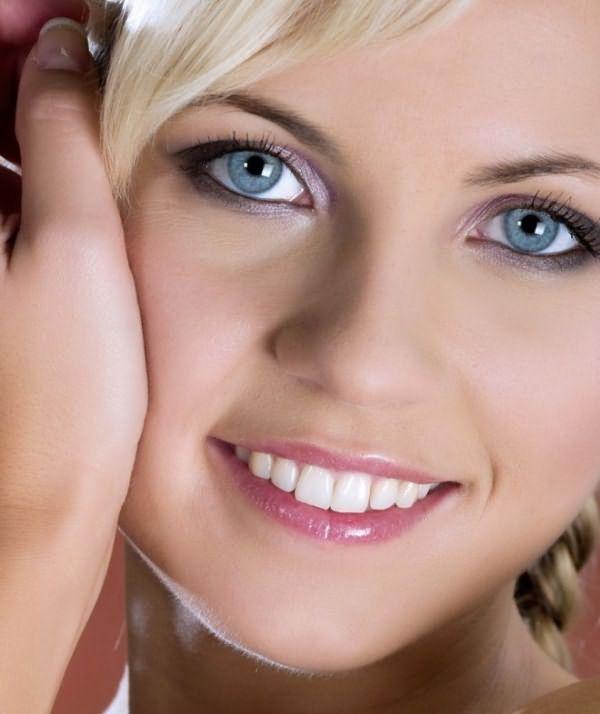 Дневной макияж для голубых глаз 3