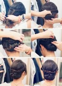 стильные прически на средние волосы 6