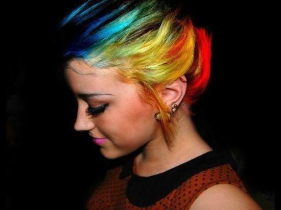 Нестандартное окрашивание волос - 3
