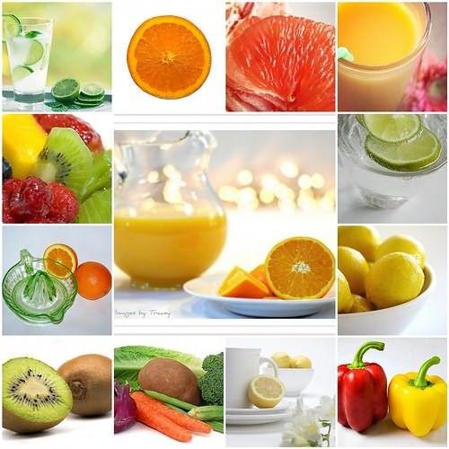 Продукты с высоким содержанием витамина С