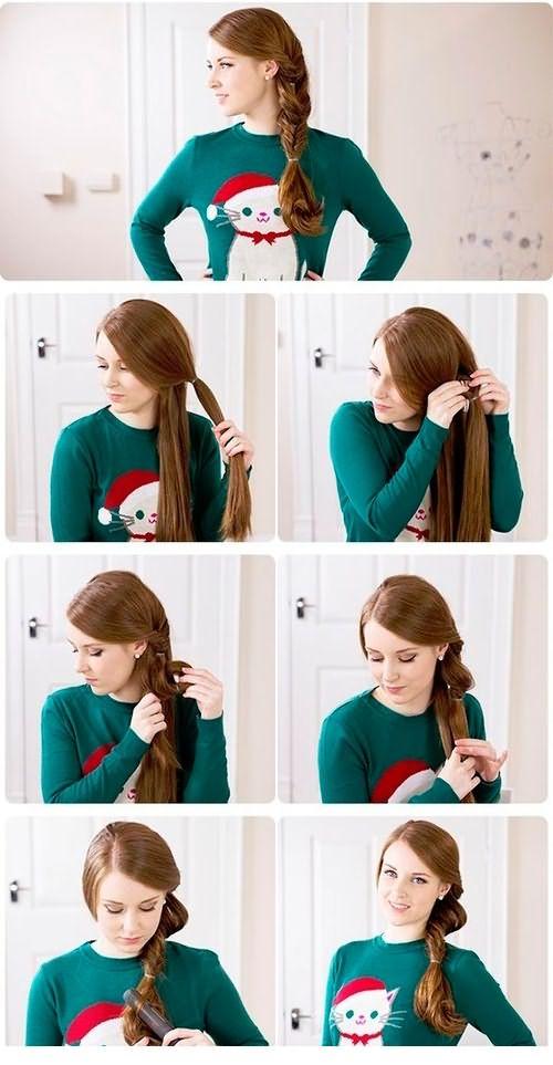 Перекрученная коса