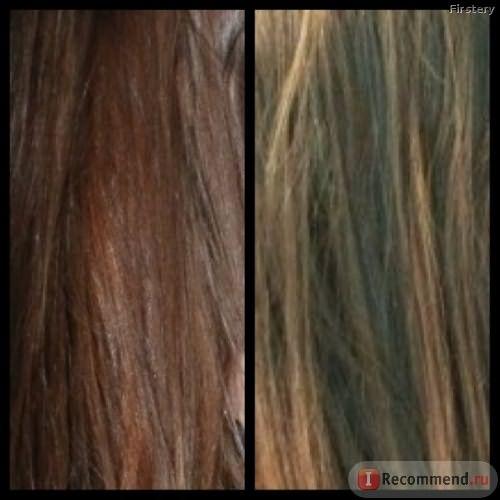 Волосы до 1я - со вспышкой, 2я - без