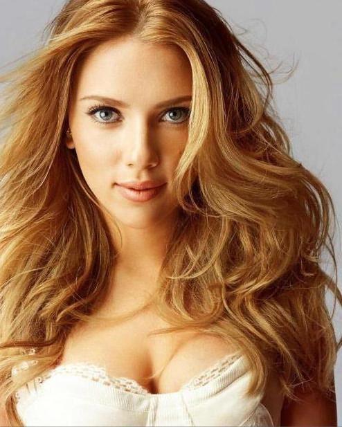 цвет карамельный блонд
