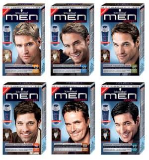 Основные цвета мужских красящих средств