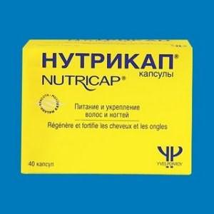 На фото – «Нутрикап» в капсулах