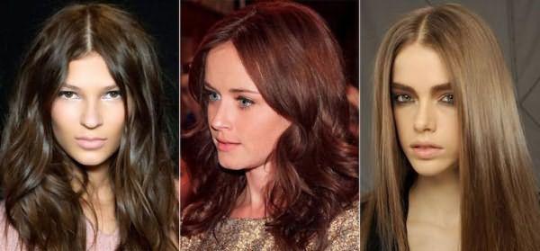 Хна для волос для разных оттенков коричневого цвета