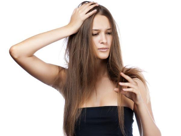 полировка кончиков волос