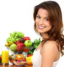 Здоровое питание для женской красоты