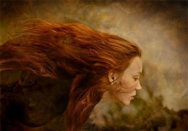 Как закрасить рыжий цвет волос