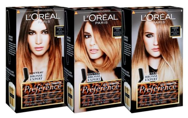 Компания L'Oréal Paris предложила попробовать создать своими руками омбре