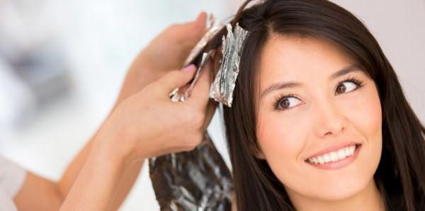 Окрашевание волос
