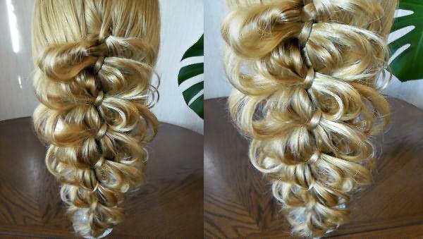Ажурные косы будут отлично дополнять романтический образ девушки, однако, плетение такой косы требует определенного мастерства.
