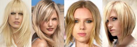 Не расстраивайтесь: прически на средние волосы для блондинок тоже могут быть очень эффектными