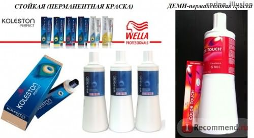 Краска для волос Wella Professional KOLESTON Perfect фото