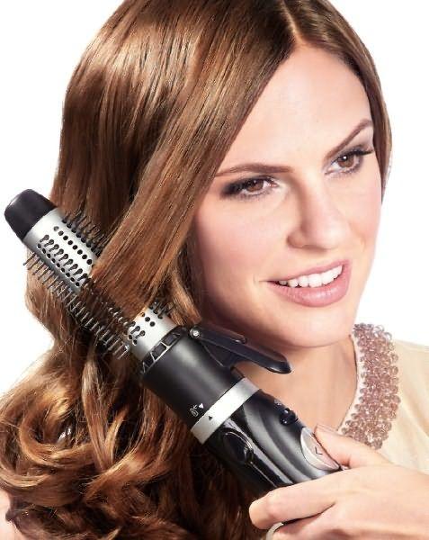 Укладка волос феном-щеткой