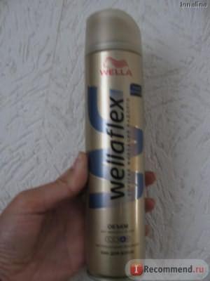 Лак для волос Wella Wellaflex Для заметного объема фото